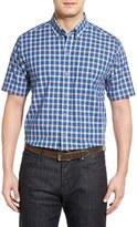 Cutter & Buck 'Horizon Plaid' Regular Fit Sport Shirt