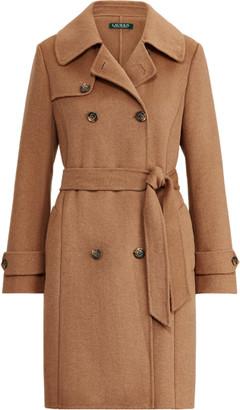 Ralph Lauren Wool-Blend Trench Coat
