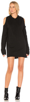 RtA Joelle Sweatshirt Dress in Black. - size M (also in S)