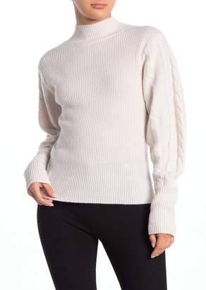 Magaschoni M Chunky Knit Cashmere Blend Pullover