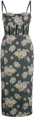 Brock Collection Floral Print Dress