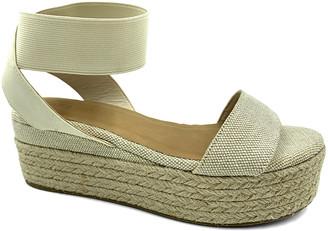 Bamboo Women's Sandals NATURAL - Natural Ankle-Strap Platform Infinity Espadrille - Women