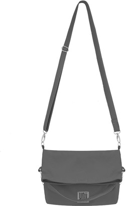 Leather Handbag Filippa Grey