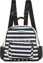 Betsey Johnson Medium Nylon Printed Backpack, Multi