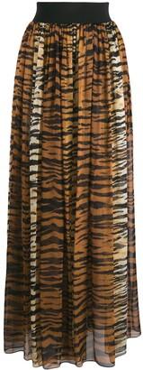 Alexandre Vauthier Animal Print Skirt