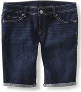 Aeropostale Womens Denim Casual Bermuda Shorts