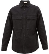 Fear Of God Oversized Cotton-corduroy Overshirt - Mens - Black
