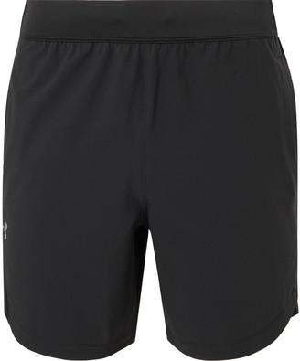 Under Armour UA Mesh-Panelled Shell Shorts - Men - Black
