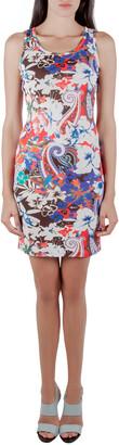 Etro Multicolor Tropical Print Crepe Sleeveless Tank Dress S