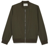 Two by Vince Camuto Washed Bomber Jacket