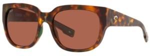 Costa del Mar Women's Waterwoman 55 Polarized Sunglasses