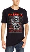 Star Wars Funko Men's Pop! T-Shirts Ep 7 - Captain Phasma