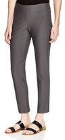 Eileen Fisher Petites System Slim Knit Ankle Pants