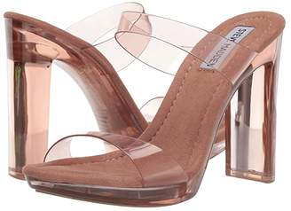 Steve Madden Glassy Heeled Sandal (Tan) Women's Sandals