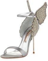 Sophia Webster Evangeline Angel Wing Sandal, Silver