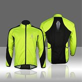 Outdoor Manager CA-Mens Fleece Thermal Cycling Long Sleeve Jersey Winter Outdoor Sports Jacket Windproof Wind Coat