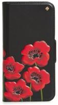 Kate Spade Poppy Iphone 7 & 7 Plus Folio Case - Black