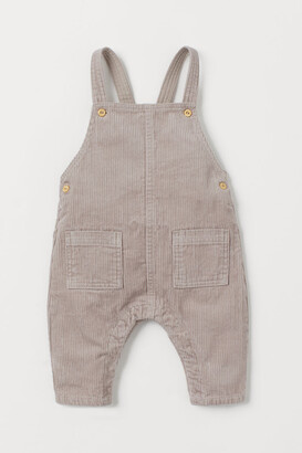 H&M Corduroy Overalls - Brown