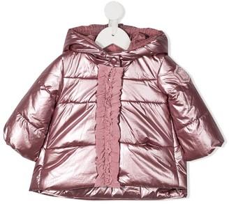 MonnaLisa Metallic Padded Jacket