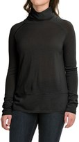 Carve Designs Pine Cowl Neck Sweater - Merino Wool (For Women)