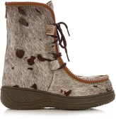 H:CE 1096 wool-lined après-ski boots