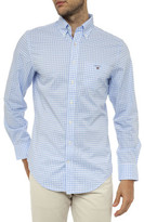 Gant The Poplin Gingham Reg Shirt