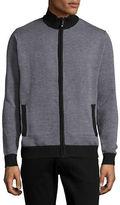 Horst Wool-Blend Zip Sweater