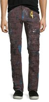 Robin's Jeans Super Distressed Denim Jeans