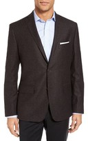 JB Britches Men's Workshop Classic Fit Wool Sport Coat