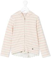 Liu Jo Kids - striped hoodie - kids - Cotton - 4 yrs
