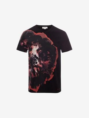 Alexander McQueen Ink Floral T-Shirt