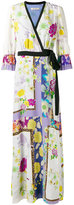 Etro floral wrap dress - women - Silk - 42