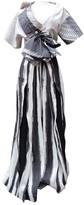 John Galliano Grey Cotton Dress for Women
