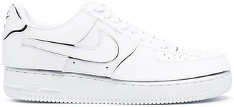 Nike Air Force 1 deconstructed sneakers