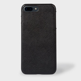 Paul Smith Black Saffiano Leather iPhone 7 Plus Case