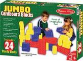 Melissa & Doug Children's Jumbo Cardboard Blocks