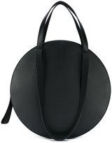 Marni Tambourine shopping tote bag - women - Cotton/Calf Leather/Lamb Skin/Polyurethane - One Size