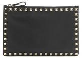 Valentino Garavani Rockstud leather pouch
