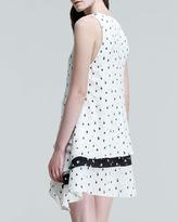Proenza Schouler Printed Tiered Trapeze Dress