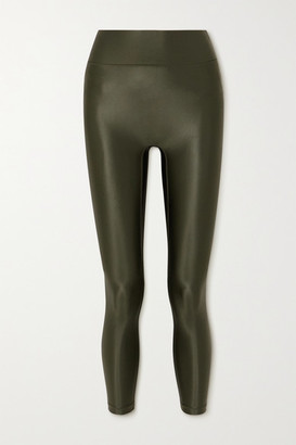 All Access Center Stage Stretch Leggings - Green
