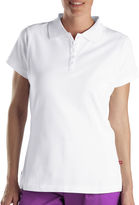 Dickies Misses Short-Sleeve Solid Piqu Polo Shirt