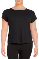 Marc New York Performance Cowl Back Athletic Top