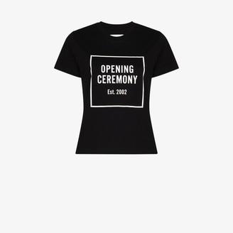 Opening Ceremony Box Logo print T-shirt