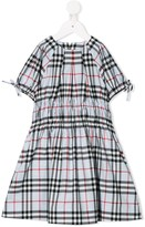 Burberry Joyce checked midi dress
