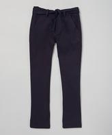Beverly Hills Polo Club Navy Straight-Leg Pants - Girls