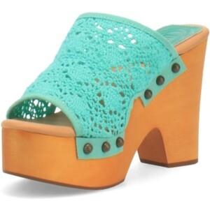 Dingo Women's Crafty Leather Platform Sandal Women's Shoes