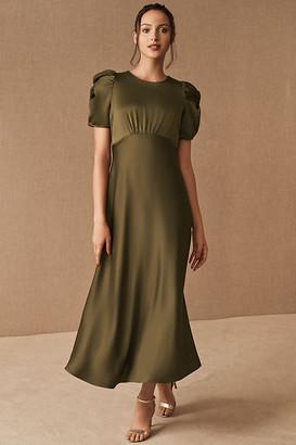 BHLDN Leyden Dress By in Green Size 0