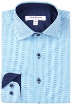 Isaac Mizrahi Long Sleeve Printed Shirt (Big Boys)