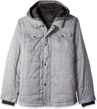 Urban Republic Mens Light Wool/Satin Jackets