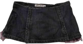 Frankie Morello Navy Denim - Jeans Skirt for Women